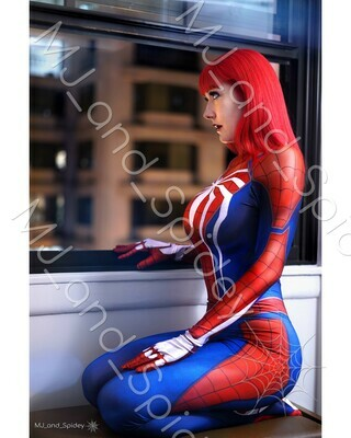 Marvel - Spider-Man - Mary Jane Watson - PS4 Insomniac Spider-Suit No. 1 - 8x10 Cosplay Print (@MJ_and_Spidey, MJ and Spidey, Comics)
