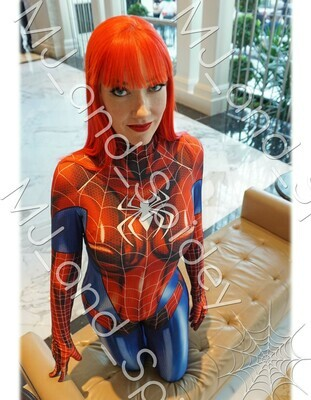 Marvel - Spider-Man - Mary Jane Watson - Classic Spider-Suit - MAGFest No. 1 - 8.5x11 Cosplay Print (@MJ_and_Spidey, MJ and Spidey, Comics)