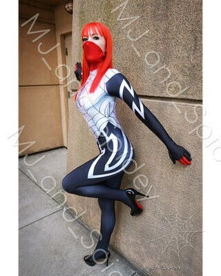 Marvel - Spider-Man - Mary Jane Watson - Silk No. 3 - Digital Cosplay Image (@MJ_and_Spidey, MJ and Spidey, Comics)