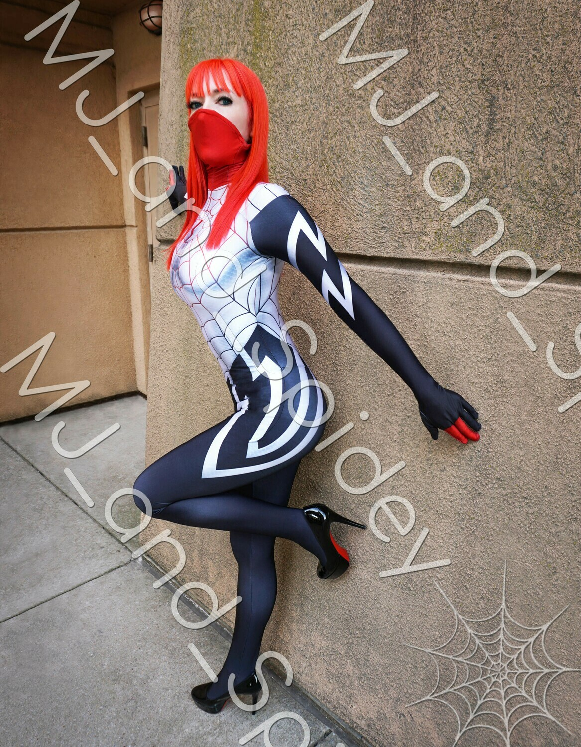 Marvel - Spider-Man - Mary Jane Watson - Silk No. 3 - 8.5x11 Cosplay Print (@MJ_and_Spidey, MJ and Spidey, Comics)