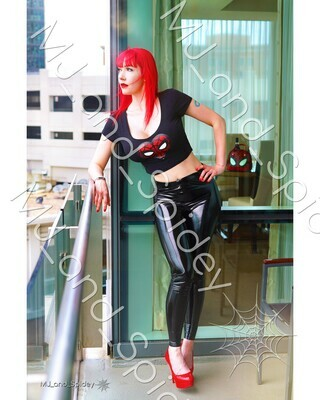 Marvel - Spider-Man - Mary Jane Watson - Classic No. 16 - Digital Cosplay Image (@MJ_and_Spidey, MJ and Spidey, Comics)