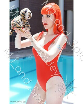 Marvel - Spider-Man - Mary Jane Watson - Swimsuit No. 3 - Digital Cosplay Image (@MJ_and_Spidey, MJ and Spidey, Comics)
