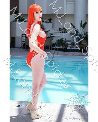 Marvel - Spider-Man - Mary Jane Watson - Swimsuit No. 7 - Digital Cosplay Image (@MJ_and_Spidey, MJ and Spidey, Comics)