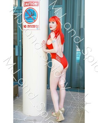 Marvel - Spider-Man - Mary Jane Watson - Swimsuit No. 4 - 8x10 Cosplay Print (@MJ_and_Spidey, MJ and Spidey, Comics)