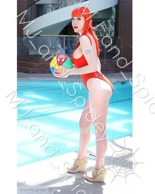 Marvel - Spider-Man - Mary Jane Watson - Swimsuit No. 2 - 8x10 Cosplay Print (@MJ_and_Spidey, MJ and Spidey, Comics)