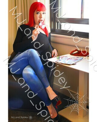 Marvel - Spider-Man - Mary Jane Watson - Popsicle No. 2 - Digital Cosplay Image (@MJ_and_Spidey, MJ and Spidey, Comics)