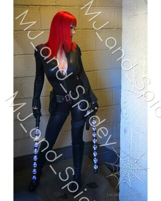 Marvel - Avengers - Black Widow No. 9 - Digital Cosplay Image (@MJ_and_Spidey, MJ and Spidey, Comics)