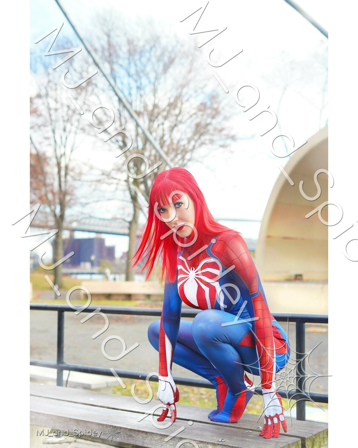 Marvel - Spider-Man - Mary Jane Watson - PS4 Insomniac Spider-Suit No. 5 - 8x10 Cosplay Print (@MJ_and_Spidey, MJ and Spidey, Comics)