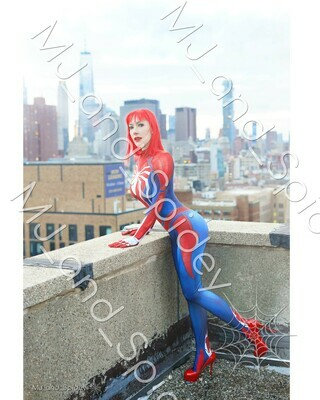Marvel - Spider-Man - Mary Jane Watson - PS4 Insomniac Spider-Suit No. 4 - 8x10 Cosplay Print (@MJ_and_Spidey, MJ and Spidey, Comics)