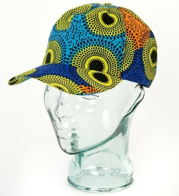 Ankara Cloth Baseball Cap - Nigeria 🇳🇬