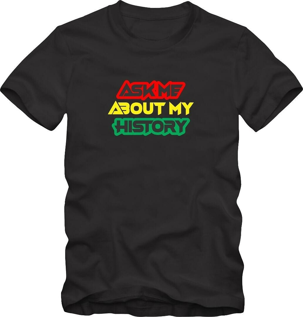 Ask Me About My History© Short-Sleeve Unisex T-Shirt