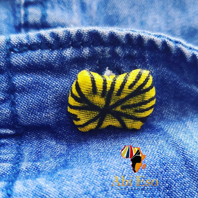 African Fabric Cufflinks - Nigeria 🇳🇬