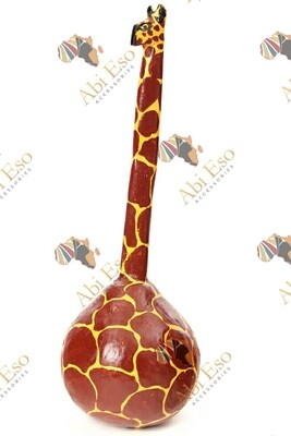 Handmade Giraffe Calabash Gourd Maraca 🇰🇪