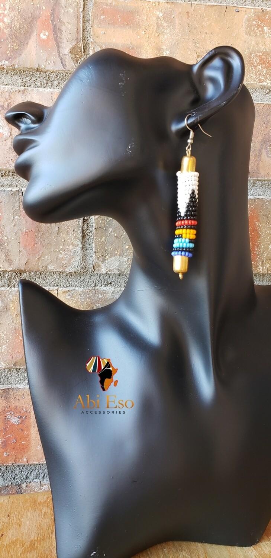 Kenyan Maasai Beads Earrings 🇰🇪