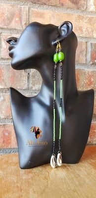 Kenyan Cowries and Seed Beads Earrings 🇰🇪