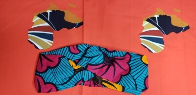 Ankara (African-inspired) Stretchy Headband - A Must-have Hair Accessory!