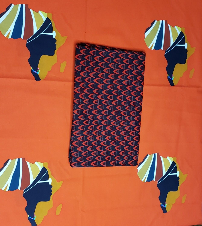 Ankara (African-inspired) Self-tied Headwrap