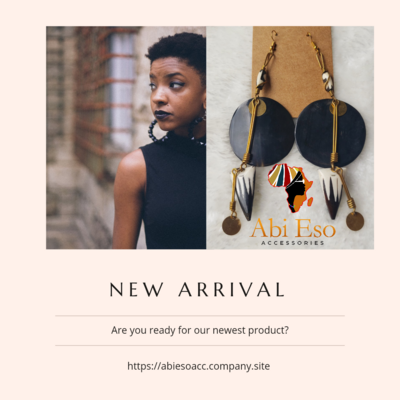 Kenyan Bone and Horn  Earrings 🇰🇪