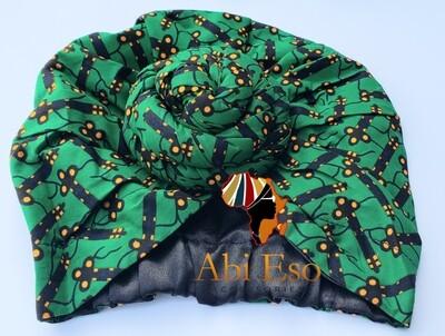 Ankara (African-inspired) Pre-tied Headwrap