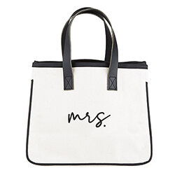 Mrs Canvas Tote