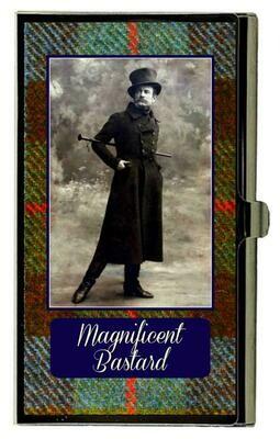 Magnificent Bastard Card Holder