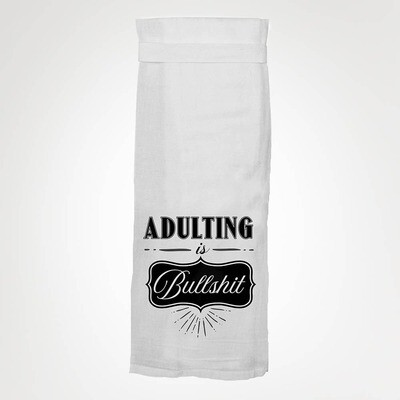 Adulting is Bullshit Towel