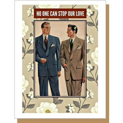 No One Can Stop Our Love - male