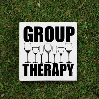 Group Therapy Napkins