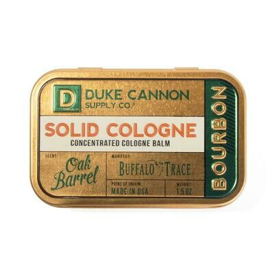 Duke Cannon Solid Cologne - Buffalo Trace