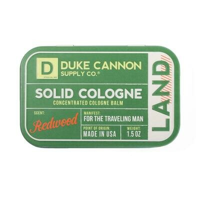 Duke Cannon Solid Cologne - Redwood
