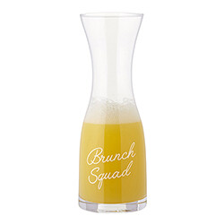 Brunch Squad carafe