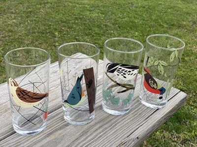 Birds Glass Set