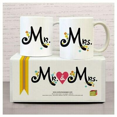 Mr. & Mrs mug set