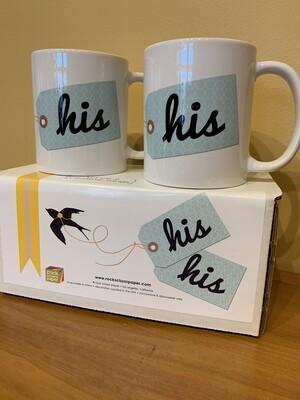His & His mug set