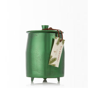 FF Green Metal Tin, med