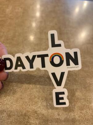 Dayton Love Sticker