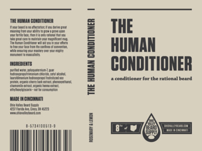 Human Conditioner - Vetiver & Cedar