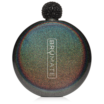 Glitter Charcoal Flask