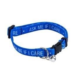 Ask Me If I Care Cat Collar