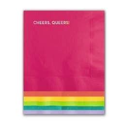 Cheers Queers Napkins