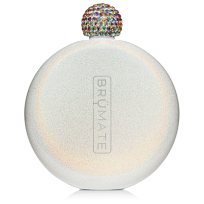 Glitter Flask Glitter White