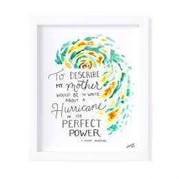 Hurricane Print -Framed