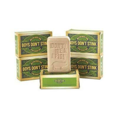 Boys Don't Stink Bar Soap