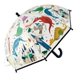 Spellbound Colour Changing Clear Umbrella