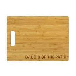 Daddio of the Patio Cutting Board