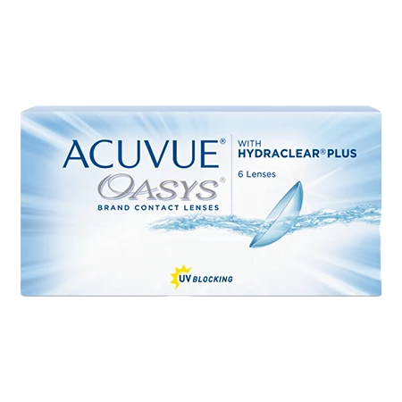 ACUVUE OASYS with HYDRACLEAR PLUS (6 ცალი)