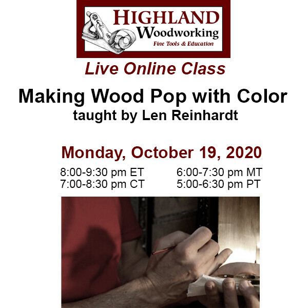 Making Wood Pop with Color