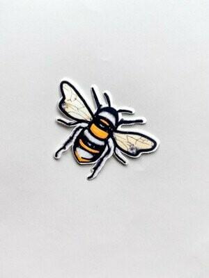 Bee sticker vinyl , hydro flask sticker, airpods sticker, small sticker, cute bee