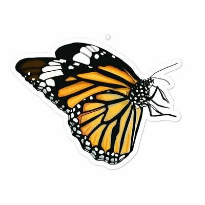 Monarch Butterfly Bubble-free sticker