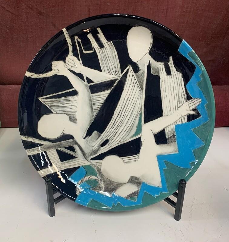 """Aimee Perez - Rescued. Ceramic, 15 1/4"""""""